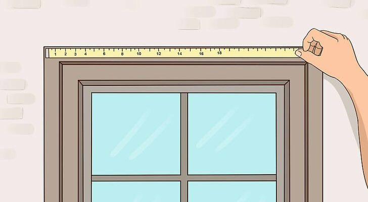 how to measure curtain