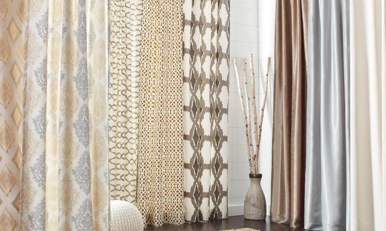 types of drapes